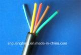 Cabo de fio elétrico isolado PVC de cobre/de alumínio do núcleo