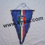 Equipo de fútbol nacional de Soccer Team los 43*33cm Triangular Pennants
