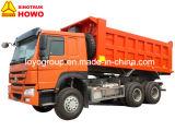 Sinotruk 6X4 HOWOのダンプトラックのトラクターのトラック