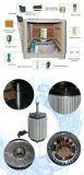 Neues Plastikschrank-Dach eingehangene Brasilien-industrielle Luft-evaporativkühlvorrichtung