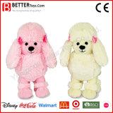 Fluffy Poodle Stuffed Soft Dog Toy para bebê / crianças