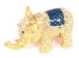 Boîte de bijoux, boîte de bijoux d'alliage, boîte de bijoux en métal (192)