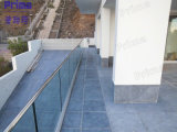 Design moderne Frameless Glass Balustarde avec Aluminum Base Channel