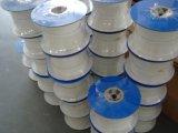 Imballaggio del Teflon della ghiandola PTFE dell'intrecciatura pura usato ad alta pressione
