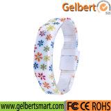 Gelbert 형식 실리콘 LED 디지털 스포츠 시계