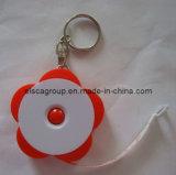 Просто рулетка рулетки шкафута формы цветка с Keychain