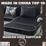 Europäisches Entwurfs-Wohnzimmer-echtes Leder-Sofa