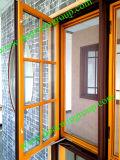 Ventana de madera de aluminio del marco del estilo americano