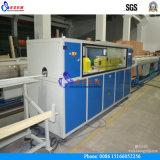 Chaîne de production de conduite d'eau de PVC de qualité/machine en plastique d'extrudeuse
