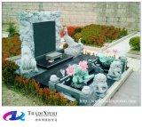 Памятник гранита китайского типа просто чествует родоначальницев
