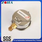 Os manómetros diminutos da resistência de choque com petróleo - cor quatro enchida do seletor para o cuidado e distinguem
