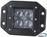 luz do trabalho do diodo emissor de luz de 4D 20W com a montagem nivelada para o caminhão