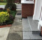 Het Bouwmateriaal poetste de Natuurlijke Tegel van de Vloer van het Graniet van de Steen Grijze op