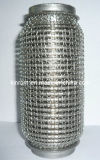 304 Ss Exhaust Flexible Pipe con Mesh Covering