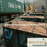 La película del Empalme-Dedo hizo frente a la madera contrachapada, madera contrachapada 1220*2440*18m m de la construcción