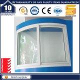 Frame residencial Honrizontal de vidro obscuro que desliza o indicador de alumínio