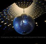 유리제 공 점화 부속품 단계 KTV 의 디스코 효력 빛