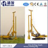 Plate-forme de forage de foreuse hydraulique de Hf128A/bélier de machine pilotante/vis de pile