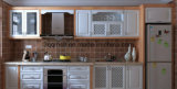 MDF modular com Cabinetry da cozinha do PVC