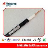 Câble Rg11 coaxial de liaison pour la télévision en circuit fermé ou le CATV