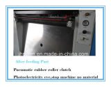 Польностью автоматическая тонкая бумага умирает автомат для резки с обнажать