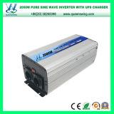 Inversor puro da potência solar de onda de seno do UPS 2000W com carregador (QW-P2000UPS)