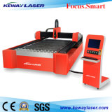 Estaca de alta velocidade do laser da fibra do CNC para o metal