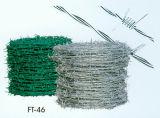 Barbelé clôturant l'approvisionnement direct d'usine de frontière de sécurité du barbelé 18#