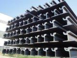Longeron en acier de grue légère pour l'industrie ferroviaire