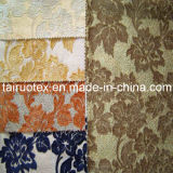 Tela de tapicería de la manera de la tela del sofá de la tela de la cortina del Chenille del telar jacquar del poliester