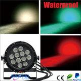 IP65 12pcsx10W 4in1 RGBW impermeabilizan la luz de la colada de la IGUALDAD LED