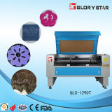Co2 Laser Cutting en Engraving Machine voor Leather, Pu Make Shoes