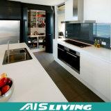 工場提供アクリルMDFのドアの食器棚の家具(AIS-K224)