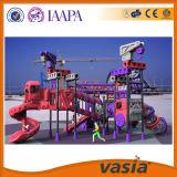 Equipamento ao ar livre do campo de jogos do jardim de infância para crianças
