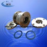 Válvula de retenção de tipo de esfera sanitária com flange (100307)