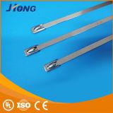 Fabrik-Erzeugnis-Verriegelung justierbaren Edelstahl-Kabelbinder verdanken