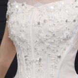ein Lice weg von The Shoulder Lace herauf Wedding Dress (SLD002)