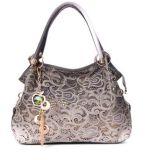 fashion Handbag 돋을새김된 어깨 여자 부대 구름 패턴 PU 디자이너 숙녀