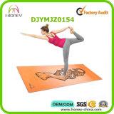 Ecologico stampato abitudine della stuoia di yoga della gomma naturale