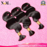 Vente en gros Remy Virgin Hair 8A Body Wave Indian Bulk Hair