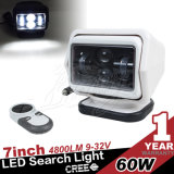 7インチ60W Combo Beam High Power LED Remote Search Light