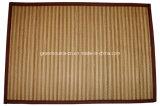 Couvre-tapis de couvre-tapis/en bambou dinant en bambou de place