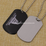 Epoxy를 가진 싼 Option Stainless Iron Silkscreen Printed Dog Tag