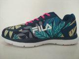 方法デザイン葉は多彩な運動靴を印刷する