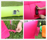 Laybagの膨脹可能な寝袋を満たすナイロンファブリックおよび空気
