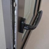Ventana de desplazamiento de aluminio revestida del polvo de la alta calidad Kz107 (bloqueo del estallido y bloqueo de la maneta)