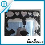 Etiqueta engomada de acrílico barata de encargo de la decoración del espejo