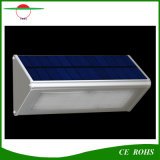 耐久の高品質のアルミニウムマイクロウェーブレーダーの動きセンサー48LED 1000lm太陽ランプIP65屋外の太陽LEDの壁ライト