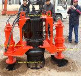Versenkbare entwässernbagger-Scherblock-Schlamm-Pumpe