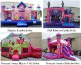 inflatable Castle 팽창식 뛰어오르는 도약자 성곽 공주